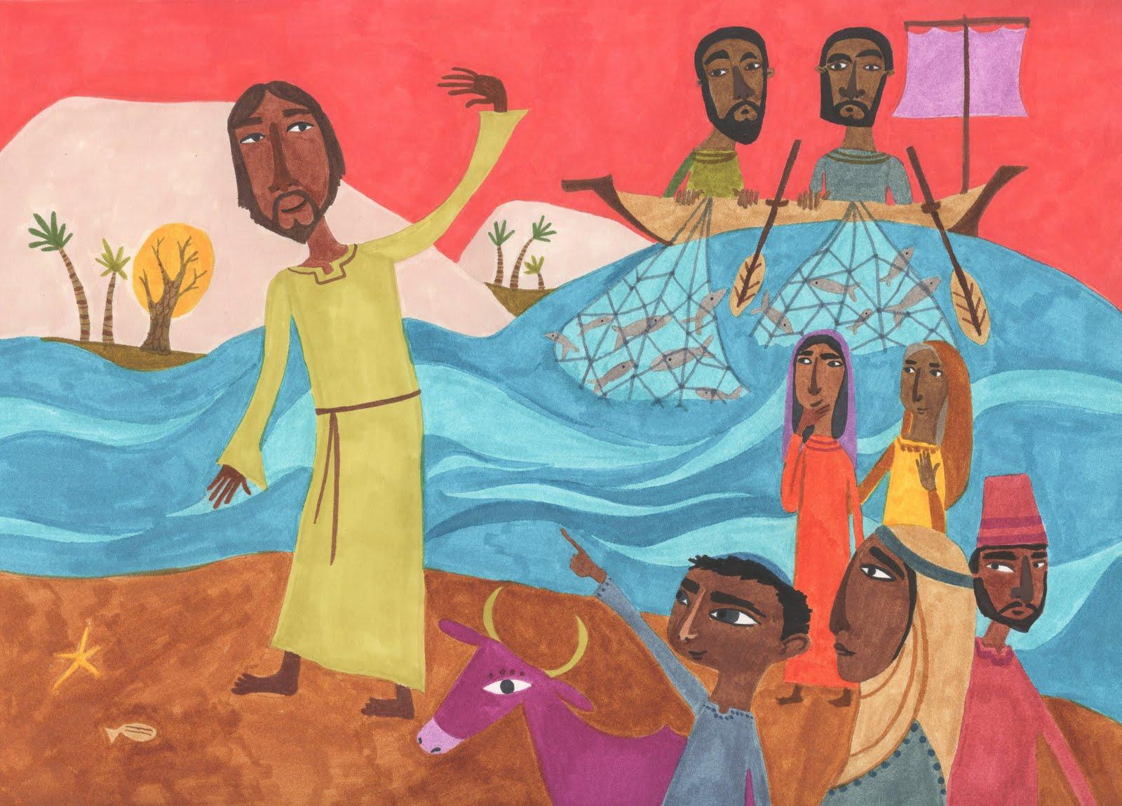 jesus-on-shore